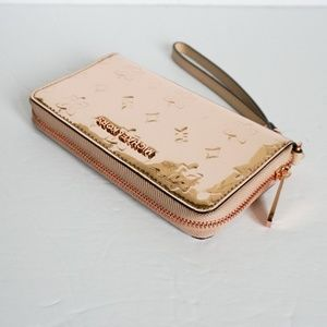 Michael Kors L Phone Wristlet Rose Gold/Metallic